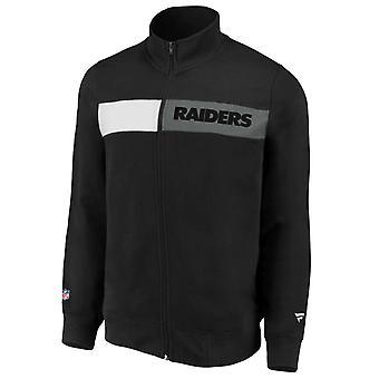 Las Vegas Raiders ikoniske NFL Fleece Track Jacket