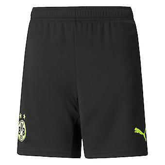 2021-2022 Borussia Dortmund CUP Shorts (Black) - Kids