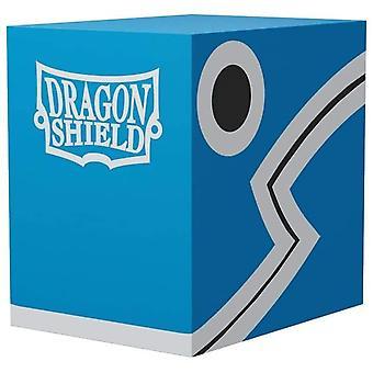 Dragon Shield Double Shell - Blue