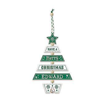 التاريخ وهيرالدري عيد الميلاد شجرة الديكور - إدوارد 269800248 اليد الخشبية وضعت
