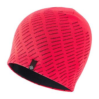 Ronhill Classic Beanie Running Outdoor Thermal Reflective Headwear Rose / Charbon de bois