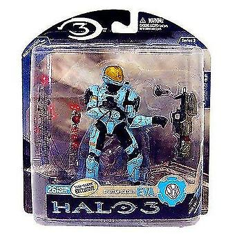 Video game consoles halo 3 toys series 3 exclusive action figure cyan spartan soldier eva by