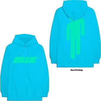Billie eilish unisex pullover hoodie: logo & blohsh (back print)