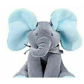 Blue Singing Elephant Plush Toy The Best Gift For Children