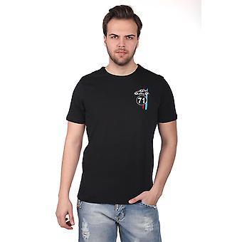 Menns Little Vosvos Trykt Crew Neck T-skjorte