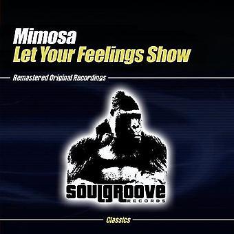 Mimosa - Let Your tunteita Näytä [CD] Yhdysvallat tuoda