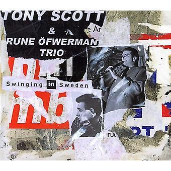 Tony Scott - Swinging in Sweden [CD] USA import