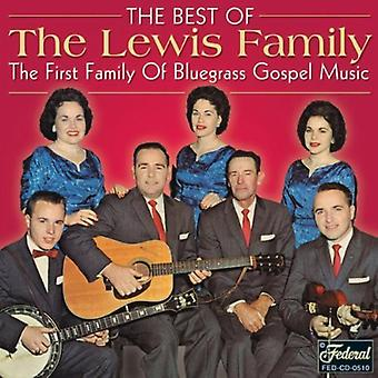 Lewis Family - Best of the Best [CD] USA import