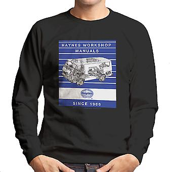 Haynes Workshop Manual 0637 Volkswagen LT Van Stripe Men's Sweatshirt