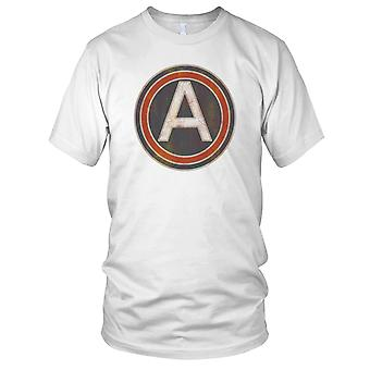 US 3rd Army Central Grunge Effect Mens T Shirt
