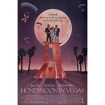 Медовый месяц в Вегасе фильм плакат (11 x 17)