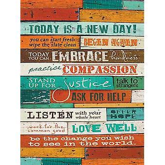 En ny dag plakatutskrift av Marla Rae (18 x 24)