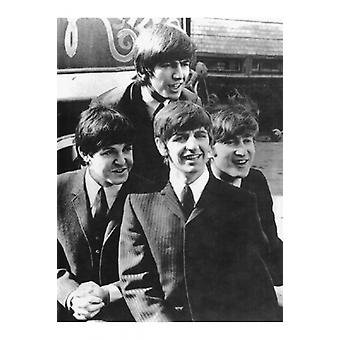 Die Beatles A Hard Days Night 1964 Poster drucken (12 x 19)