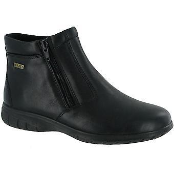 Cotswold dames Deerhurst lederen waterdichte Ankle Boot zwart