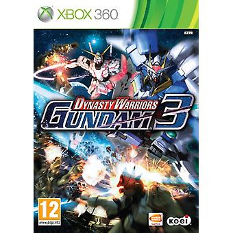 Dynasty Warriors Gundam 3 (Xbox 360)-nieuw