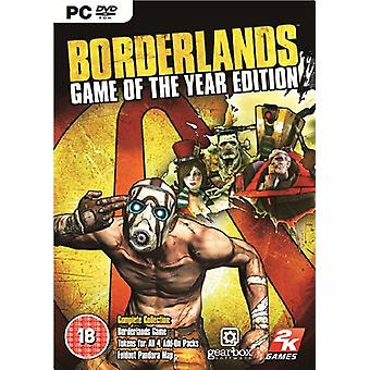 Borderlands Game of the Year Edition (PC DVD) - Factory Sealed