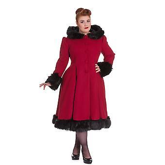 Hell Bunny Hooded Elvira Coat