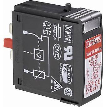 Phoenix kontakt VAL-MS 230 ST 2798844 surge avleder (plug-in) overspenningsvern for: sentralbord 20 kA