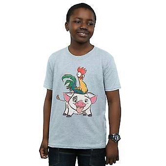 Disney Boys Moana Hei Hei And Pua T-Shirt