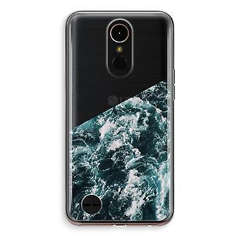 LG K10 (2018) Transparent fodral (Soft) - Ocean Wave