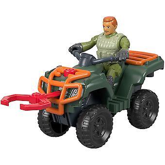 Imaginext Jurassic World ATV and Technician