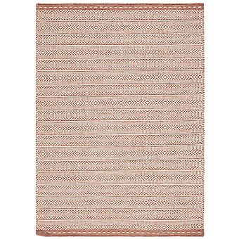 Knox Reversible Wolldecken In Coral