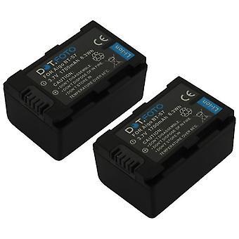 2 x bateria zamiennik BenQ DLI-218 Dot.Foto - 3, 7V / 1700 mAh