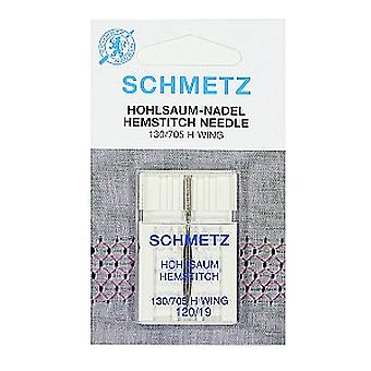 Schmetz Sewing Machine Needle - Hemstitch / Wing (Divers Tailles)