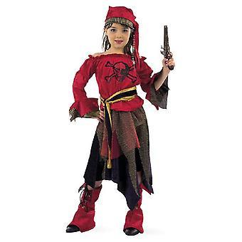 Piratin Seeräuberin Mädchenkostüm Piratengirl Kinderkostüm