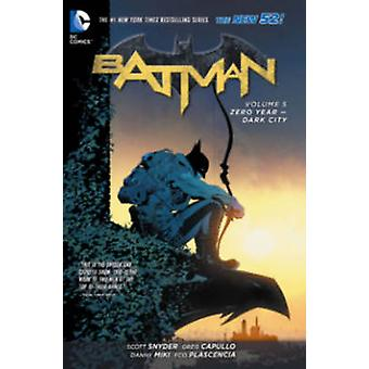 Batman - Volume 5 - ano Zero - Dark City (52ª edição) por Greg Capul