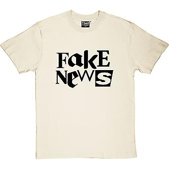 Fake News Natural Men-apos;s T-Shirt