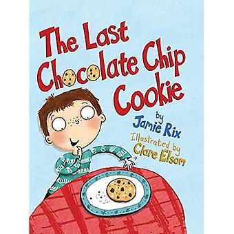 Le dernier biscuit brisures de chocolat