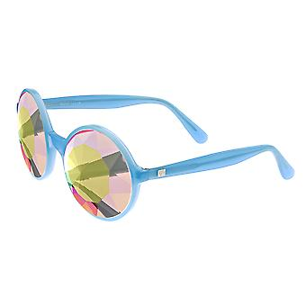 Sixty One Xperience Polarized Sunglasses - Blue/Multi-Colored