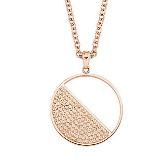s.Oliver jewel ladies chain necklace stainless steel Rosé gold 2024275