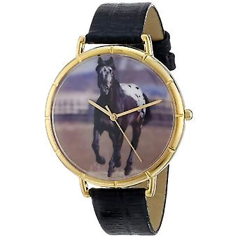 Whimsical Watches unisex wristwatch-N-0110022, leather, color: multicolor