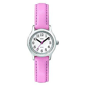 T790814E Timex Analog kvinners håndleddet, hud, rosa