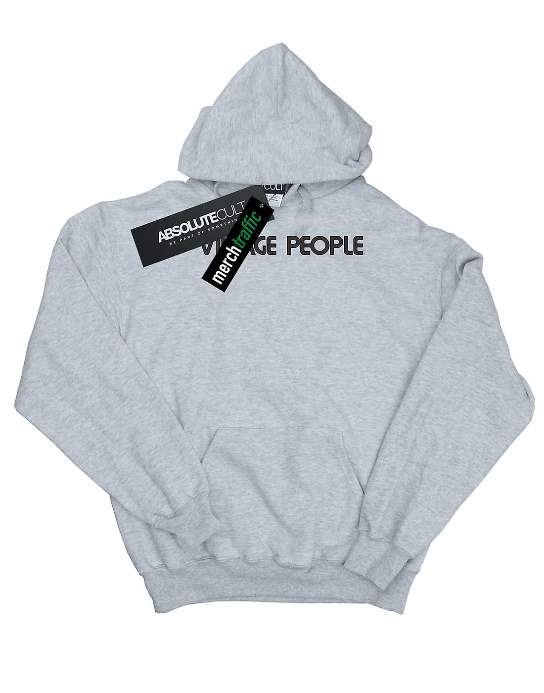Village People Boys Text Logo Hoodie