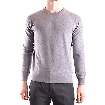 Altea Ezbc048032 Men's Grey Wool Sweater