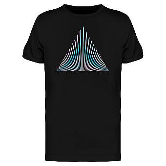 Holo Triangle Vaporwave Style Tee Men's -Image by Shutterstock