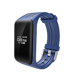 K1 activity wristband with continuous heart rate monitor-blue