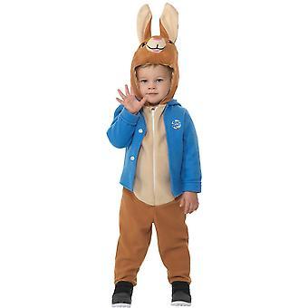 Deluxe Peter Rabbit bambino costume unisex neonato Carnevale coniglio
