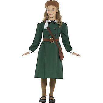 WW2 Evacuee Kız Kostüm