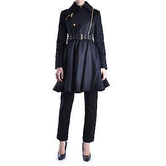 Balizza Ezbc206003 Frauen's schwarze Wollmantel