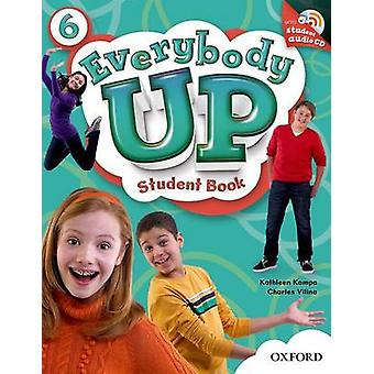 Everybody Up-6-Student Book with Audio CD Pack von Kathleen Kampa-