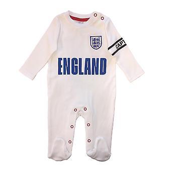 Angleterre football bébé Kit Sleepsuit-2019/20