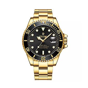 Mens Homage Automatic Watch Black Gold Smart Watches Date Designer Gift