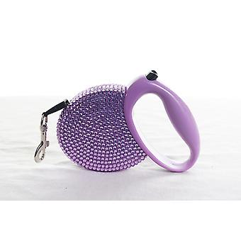 Purple Diamond Sparkle Dog Collar