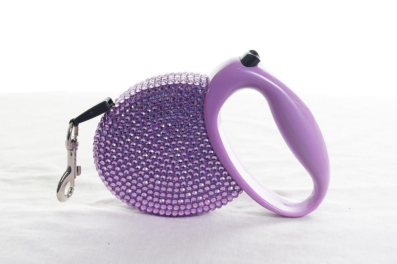 Purple Diamond Sparkle Dog Collar