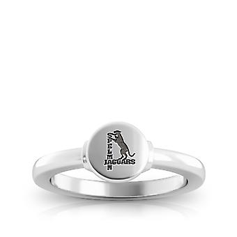 Spelman College graviert Sterling Silber Siegel Ring