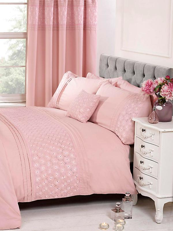 Everdean Floral Duvet Cover and Pillowcase Set